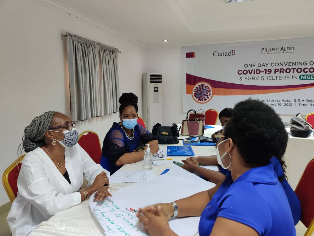 One Day Convening on COVID-19 Protocols & SGBV Shelters in Nigeria